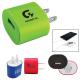 Oval USB AC Wall Adapter