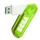 Promotional Translucent Swivel USB Flash Drive 2GB