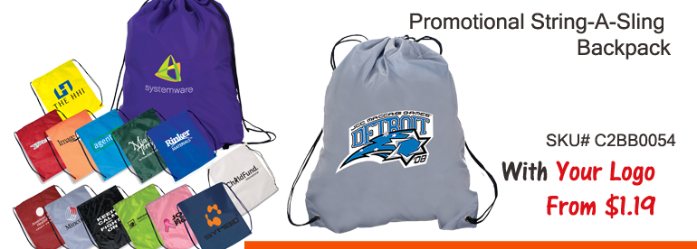 Promotional drawstring bags | Personalized Bags | Custom drawstring backpacks