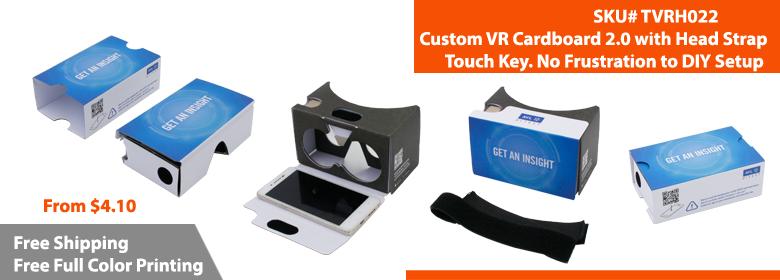 Custom Google Cardboard | Branded Google Cardboard | TVRH022