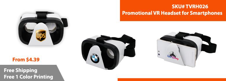 Custom VR Headset | Custom Google Cardboard | Google Cardboard Branded | TVRH026