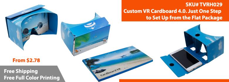 Custom Google Cardboard | Google Cardboard Branded | TVRH029