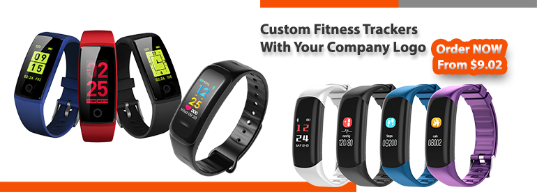 Promotional Fitness Tracker | Custom Activity Tracker | Branded Health Tracker with Custom Logo